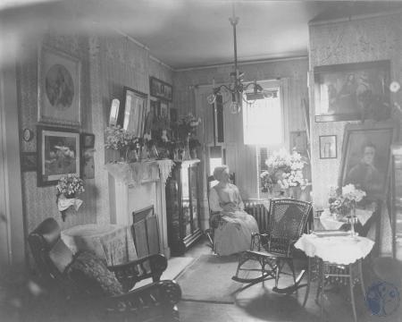 Image: bakerhunt030 - Mrs. Margaretta Hunt in Katie's Room on her 70th