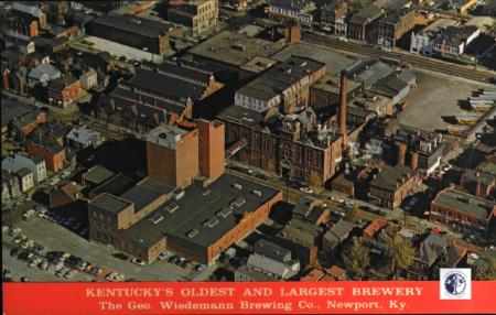 Image: di00002 - Arial view of Wiedemann Brewery.