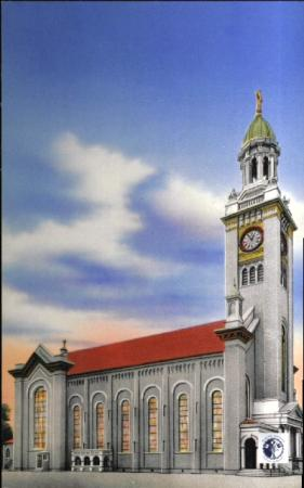 Image: di00005 - Image of St. Aloysius Church exterior.