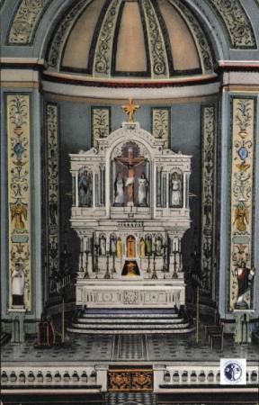 Image: di00011 - Interior view of altar.