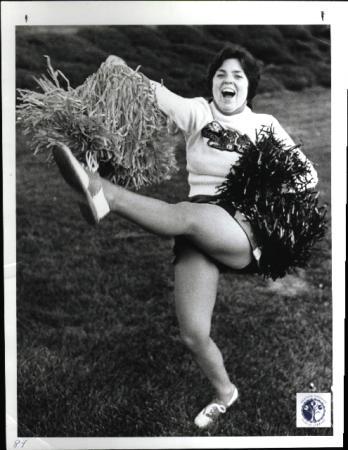 Image: di00685 - Debbie Lee, cheering at practice