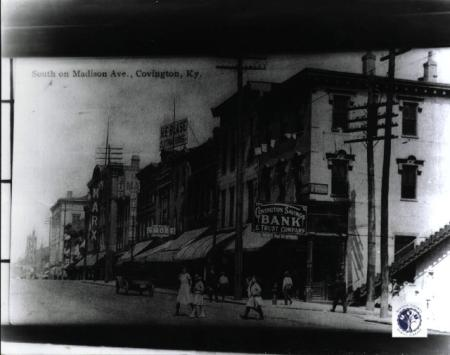 Image: di01136 - view south on Madison Avenue