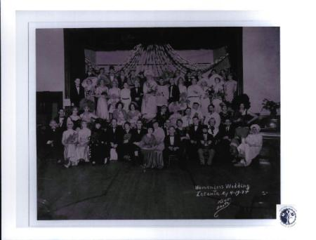 Image: di01163 - All Male Wedding known as the Womenless Wedding