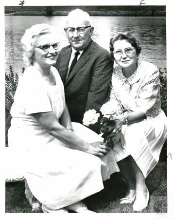 Image: di01565 - Miss Ruth Burkhart, John Sweeney and Mrs. John Sweeney