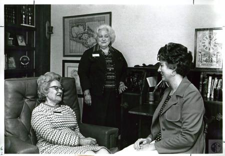Image: di02520 - Mrs. O.O. Thompson, Mrs. Richard Allison, Mrs. Betty Anderson