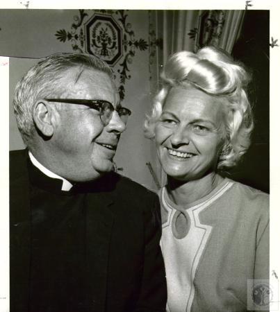 Image: di02701 - Rev. William T. Herington & Mrs. William A. Brown