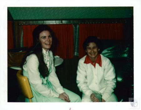 Image: di02897 - Rose Arie Bramble, 31 (left) - killed by jockey Bill Clinch