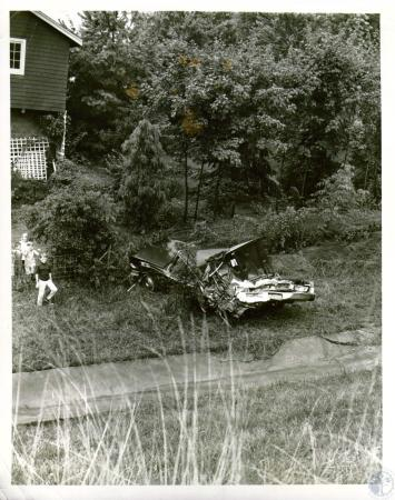 Image: di05659 - Accident involving 1965 Chrysler driven by William C. Hendrix 58, of Detroit