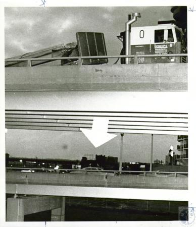 Image: di05687 - Wreck on I-75 bridge