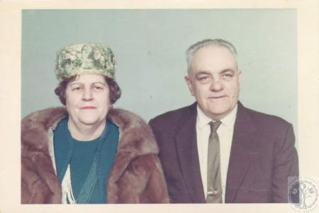 Image: di07567 - Mr. and Mrs. Harry Smith, golden wedding anniversary