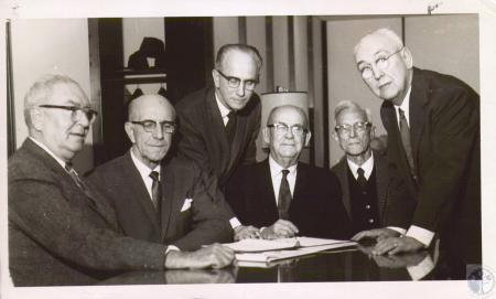 Image: di07850 - William G. Schmidt, Earle Minton, C.H. Kuhn, E.C. Perkens, Wilbur Nagel, R.A. Hoffman
