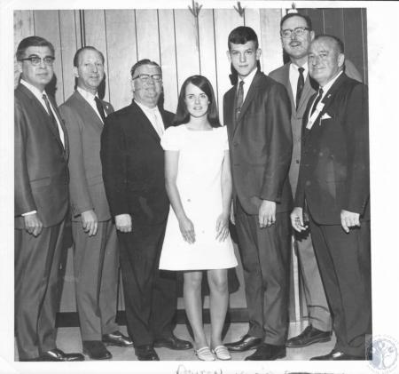 Image: di09356 - E. Desoto, C. Gray Hatfield, Eddie Meier, Deborah Sharon Routen, Robert Edward Klein, Jerry Staubach,....