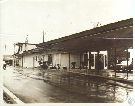 Image: di09389 - Roundup Club, Dixie Highway, Erlanger owned by Gene Kenney blasted by dynamite Feb. 2, 1968