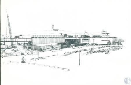 Image: di10067 - sketch of airport renovation