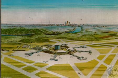 Image: di10079 - artist's rendering of future of airport