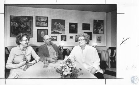 Image: di10272 - Lela Cooney, Tom Webb & Gladys Bass