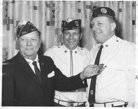 Image: di10403 - Floyd Terry, John H. Keys, Earl Hauselman