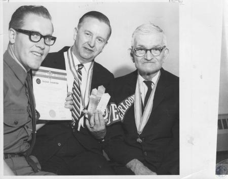 Image: di10413 - Robert Girdwood, Rev. Joseph Hill, Archie Williams