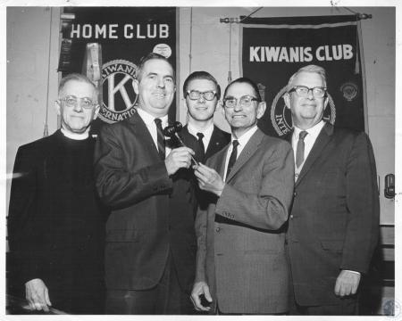 Image: di10561 - Rev. Morris Perr and unknowns