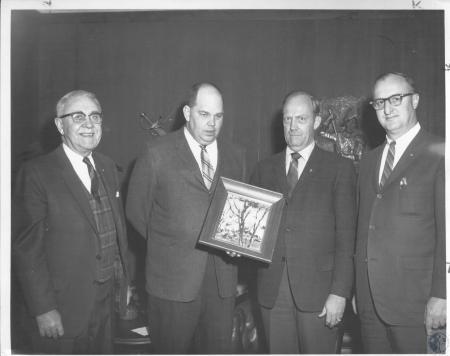 Image: di10563 - Albert Keeler, Tom Clark, Robert Wilson, Duke Austin