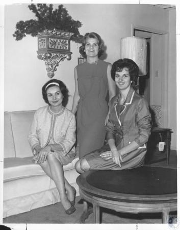 Image: di10682 - Mrs. Richard Hoefinghoff, Mrs. Joseph Turner, Mrs. Robert Schultz