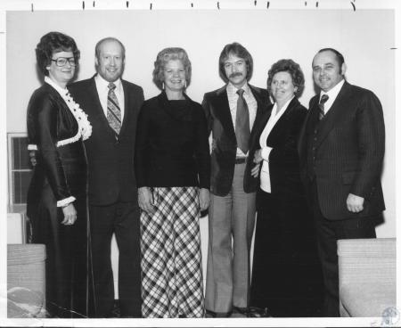 Image: di10700 - Vera Angel, Bob Daniels, Harriet Burns, Fred Burch, Lu Buechel, Tom Huey