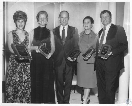 Image: di10703 - Barbara Hollman, Harriet Burns, Jim Kelly, Thelma Wells, Marvin Hellman