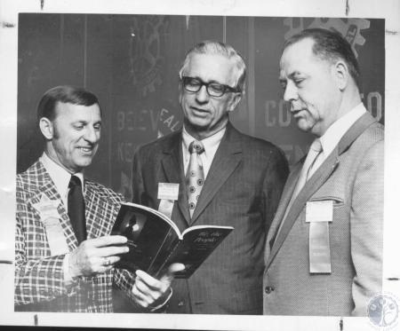 Image: di10720 - Ronald Jones, James B. Garland, Luther S. Safriet