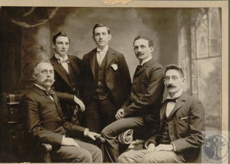 Image: di100083 - Lawyers - (2nd from left) John Read