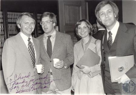 Image: di100269 - Lt. Governor Steve Beshear, Gerald R. Toner, Julie Hayes, Chuck Eilerman