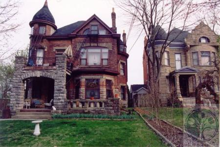 Image: di100407 - Levassor House & Dr. Thomas Bird House