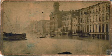 Image: di100480 - Cincinnati during flood of 1884
