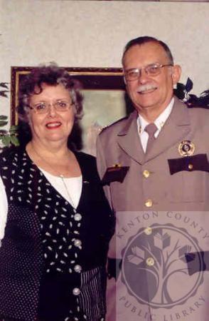 Image: di100604 - Ruth and Sheriff Charles Korzenborn