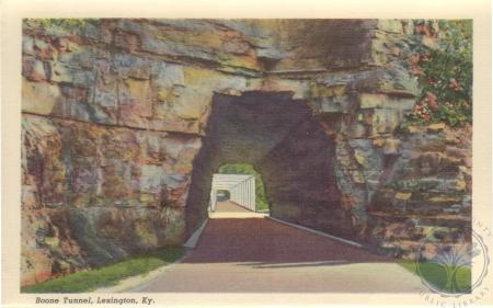 Image: di105750 - Boone Tunnel, Lexington, KY