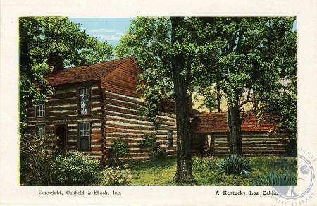 Image: di105797 - A Kentucky Log Cabin