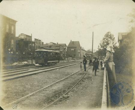 Image: di106361 - Opening of the streetcar line.