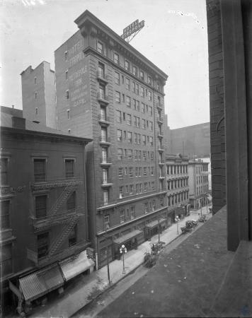 Image: di107422 - Old Hotel Metropole. 609 to 617 Walnut Street.