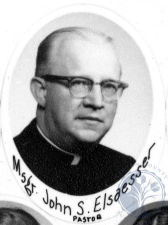 Image: di107811 - Msgs. John S. Elsaesser. Pastor.