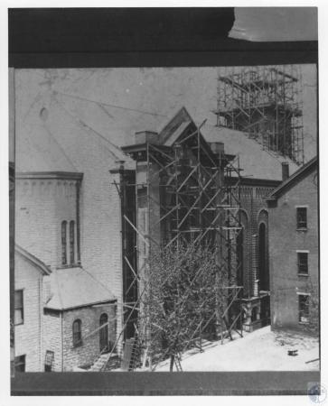 Image: di12260 - restoration and tower building