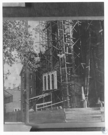 Image: di12273 - construction of tower