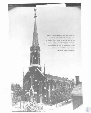 Image: di12375 - exterior of church