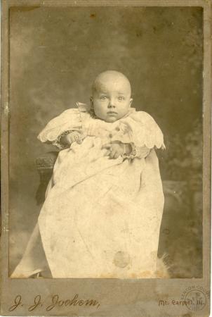 Image: di126411 - Unknown child. Photographer J.J. Johnson of Mt. Carmel Illinois