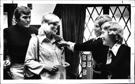 Image: di127964 - Jim LeClair (Bengal), Betty LeClair, Ann Bechtold and Judy Daniels