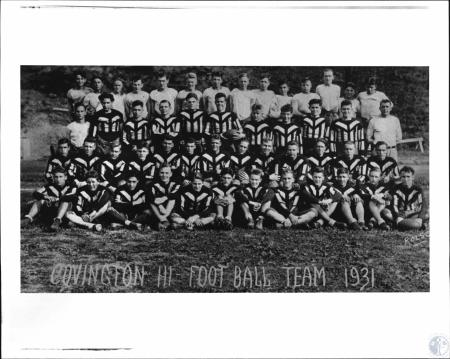 Image: di127978 - Covington High Football Team