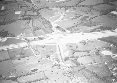 Image: di128021 - Aerial view of Florence, I-71/I-75 construction