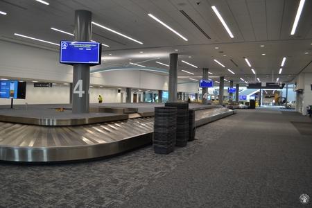 Image: di128356 - Empty baggage claim carousels at the Greater Cincinnati International Airport