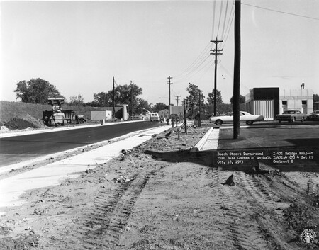 Image: di128507 - Beech Street turnaround, I-471 bridge project