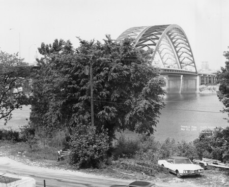 Image: di128609 - Overview view, I-471 bridge project