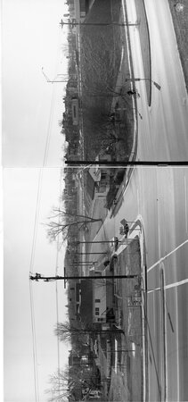 Image: di128617 - View of houses, I-471 bridge project