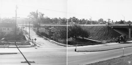 Image: di128686 - View of Riverside Drive, I-471 bridge project